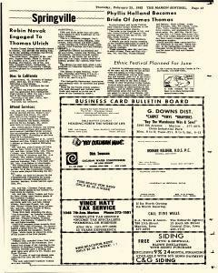 Marion Sentinel, February 25, 1982, Page 13