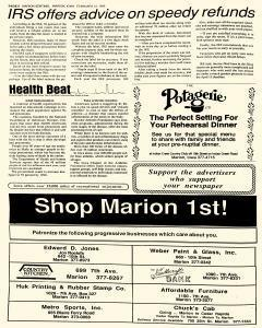 Marion Sentinel, February 12, 1987, Page 6