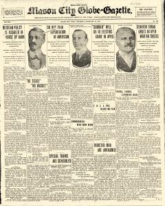 Mason City Globe Gazette, February 26, 1914, Page 1