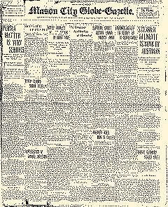 Mason City Globe Gazette, January 04, 1916, Page 1