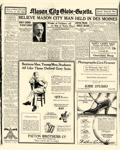 Mason City Globe Gazette, November 11, 1927, Page 12