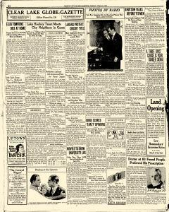 Mason City Globe Gazette, February 10, 1928, Page 6