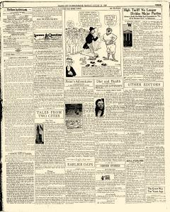 Mason City Globe Gazette, August 27, 1928, Page 3