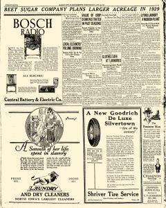 Mason City Globe Gazette, October 24, 1928, Page 24