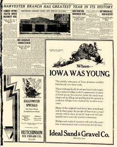 Mason City Globe Gazette, October 24, 1928, Page 25