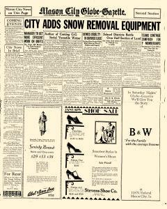 Mason City Globe Gazette, January 17, 1929, p. 11