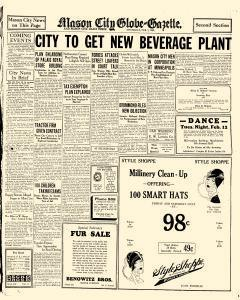 Mason City Globe Gazette, February 07, 1929, Page 9