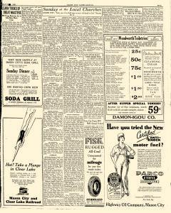 Mason City Globe Gazette, July 13, 1929, Page 5