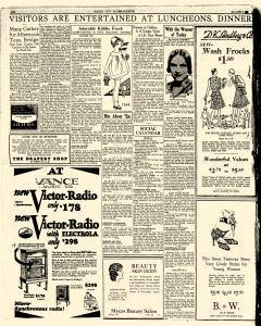 Mason City Globe Gazette, August 01, 1929, Page 6