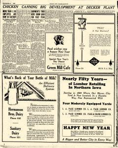 Mason City Globe Gazette, December 31, 1929, Page 16