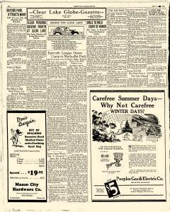 Mason City Globe Gazette, July 06, 1931, Page 14