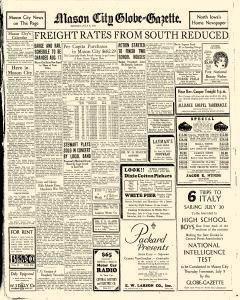Mason City Globe Gazette, July 06, 1931, Page 11