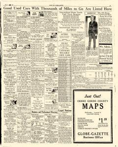 Mason City Globe Gazette, July 06, 1931, Page 19