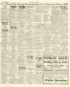 Mason City Globe Gazette, September 29, 1931, Page 17