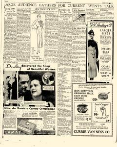 Mason City Globe Gazette, November 09, 1933, Page 15