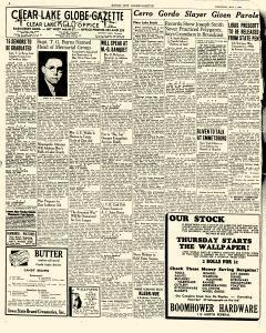 Mason City Globe Gazette, May 01, 1940, Page 4