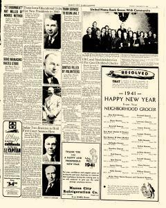 Mason City Globe Gazette, December 31, 1940, Page 3