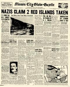 Mason City Globe Gazette, September 20, 1941, Page 1
