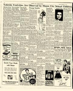 Mason City Globe Gazette, December 18, 1942, p. 6