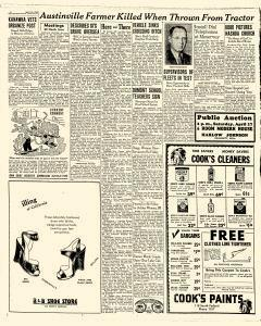 Mason City Globe Gazette, April 25, 1946, Page 4