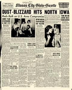 Mason City Globe Gazette, February 04, 1947, Page 1