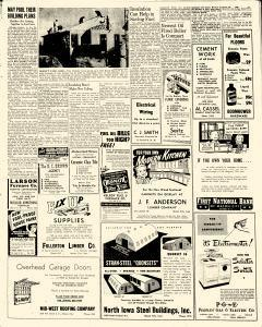 Mason City Globe Gazette, March 22, 1948, p. 7