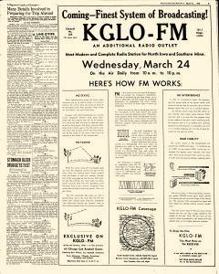 Mason City Globe Gazette, March 22, 1948, p. 15