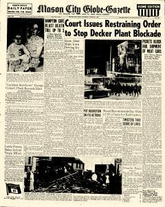 Mason City Globe Gazette, March 27, 1948, Page 1