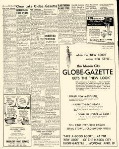 Mason City Globe Gazette, April 19, 1948, Page 8