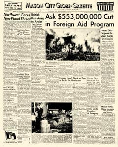 Mason City Globe Gazette, June 03, 1948, Page 1