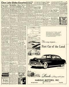 Mason City Globe Gazette, October 16, 1950, Page 8