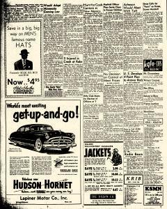 Mason City Globe Gazette, January 10, 1951, Page 2