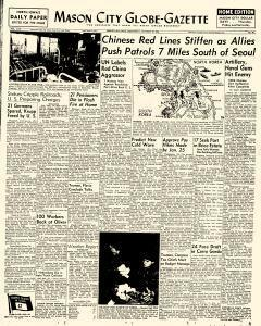 Mason City Globe Gazette, January 31, 1951, Page 1