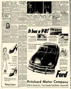 Mason City Globe Gazette, February 13, 1951, Page 6
