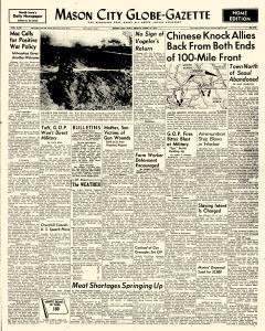 Mason City Globe Gazette, April 27, 1951, Page 1