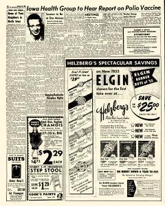 Mason City Globe Gazette, March 17, 1955, Page 6