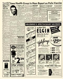 Mason City Globe Gazette, March 17, 1955, Page 8