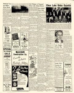 Mason City Globe Gazette, November 12, 1955, p. 5