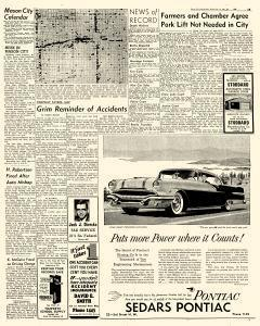 Mason City Globe Gazette, January 24, 1956, Page 13