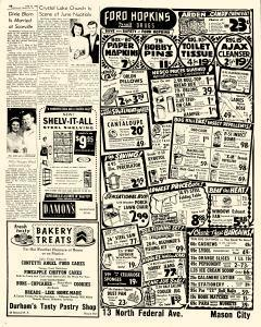 Mason City Globe Gazette, June 21, 1956, Page 16