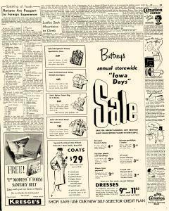 Mason City Globe Gazette, October 25, 1956, Page 17