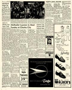 Mason City Globe Gazette, October 25, 1956, Page 6
