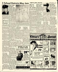 Mason City Globe Gazette, March 21, 1957, Page 3