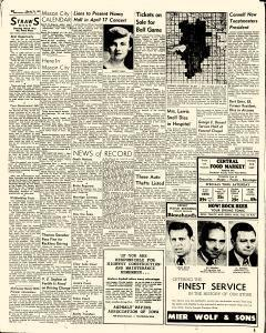Mason City Globe Gazette, March 21, 1957, Page 12