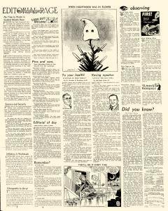 Mason City Globe Gazette, October 11, 1957, Page 4
