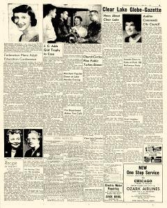 Mason City Globe Gazette, October 26, 1957, Page 9