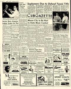 Mason City Globe Gazette, April 19, 1958, Page 8