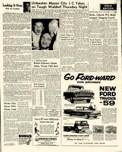 Mason City Globe Gazette, October 15, 1958, Page 19
