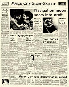 Mason City Globe Gazette, April 13, 1960, Page 1