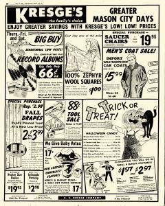 Mason City Globe Gazette, October 19, 1960, Page 20